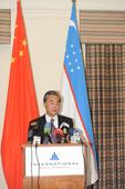 Wang Yi: Co-construction of the Silk Road Economic Belt should Become the Mainline of China-Uzbekistan Cooperation