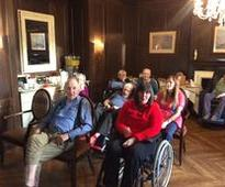A Musical Tea Party at Hungerford Care Home