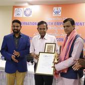 Odisha-based Rights activist Akhand receives Youth Icon Award 2017