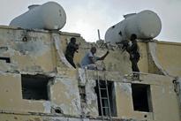 'Massive explosion', attack under way at Mogadishu hotel