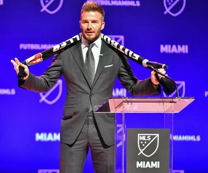 Beckham is the owner of a football team!