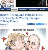Propaganda war over Wikileaks: In the Democratic echo chamber, inconvenient truths are recast as Putin plots