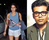 Sara Ali Khan doesn't want to make her debut with Karan Johar's 'Student of the Year 2'?