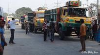 Business hit hard as truck, lorry strike continues in northern districts