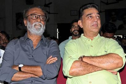 'Spiritual' Rajini and 'rationalist' Kamal -- can the twain meet?