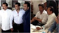 Here's what happened when Shah Rukh Khan and Salman Khan attended Baba Siddique's Iftar party!