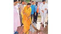 Vasundhara Raje experiences burnout, yet performs duties