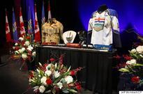 Jim Prentice Remembered By Friends, Family At Calgary Memorial