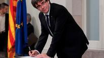 Spanish government to suspend Catalonia's political autonomy