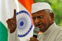 Hazare concludes second phase of Jantantra Yatra