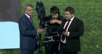 CEO of Russia's Largest Bank Gets His Cheese On at Presentation