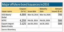 Offshore bond issuances fall by 50% so far in 2016