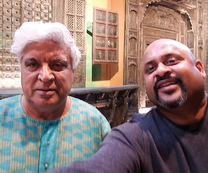 Spotted: Javed Akhtar in Mumbai