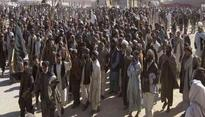 Protesting Pashtuns demand removal of Pak Army check posts in Swat