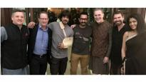 Bollywood superstars Aamir Khan and Shah Rukh Khan meet Netflix CEO Reed Hastings
