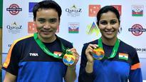 ISSF World Cup: Jitu Rai-Heena Sidhu pair wins gold in 10m air pistol event
