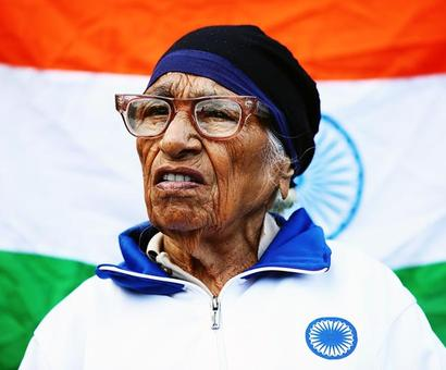 Centenarian Man Kaur sets sights on winning Laureus award