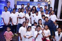 Etihad, Mumbai Indians spread cheer to children