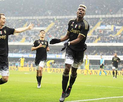 Serie A: Irresistible Juve thump Chievo for 12th league win in a row
