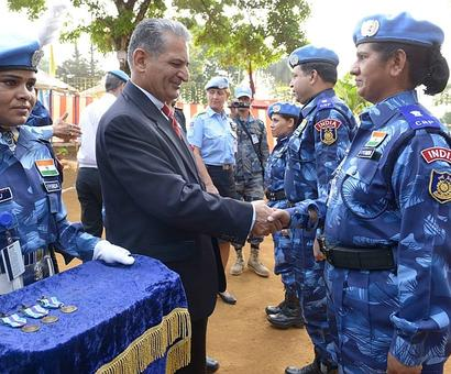 Indian peacekeepers in Libya awarded for courage