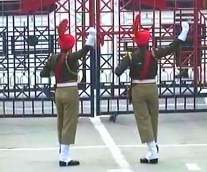 Thousands gather at Attari-Wagah border for Beating Retreat ceremony