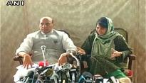 Kashmir: Rajnath Singh appeals for peace, Mehbooba says kids being used as shields by vested interests