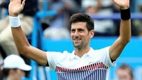 Eastbourne: Novak Djokovic passes first grass test with straight-sets win over Vasek Pospisil