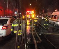 Fire at apartment kills 12 in New York's Bronx