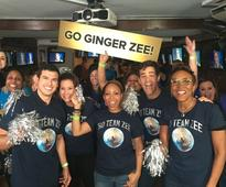 GMA Colleagues Stay Up Late to Cheer on Ginger Zee