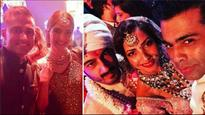 In Pics| Sridevi, Sonam Kapoor-Anand Ahuja attend Mohit Marwah-Antara Motiwala's big fat Punjabi wedding