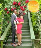 Pre-wedding photos of Nigerian international footballer, Uche Kalu