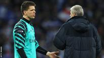 Szczesny's loss of form 'normal'