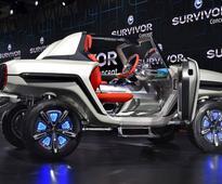 Auto Expo 2018: Maruti Suzuki shows e-Survivor concept SUV in India