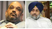 Amit Shah to meet Sukhbir today, likely to discuss alliance issues