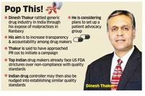 Ranbaxy whistleblower Dinesh Thakur may set up patient advocacy group
