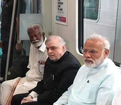 Congress leader says Kerala BJP chief metro ride with PM was 'security breach'