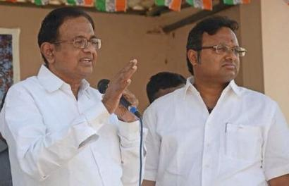 Chidambaram slams government's 'malicious onslaught' as firm linked to son is searched
