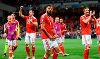 WATCH: Wales' Joe Ledley busts some serious moves as Wales qualify for last 16