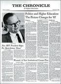 The Chronicle of Higher Education Marks 50 Years of Covering Campus Trends