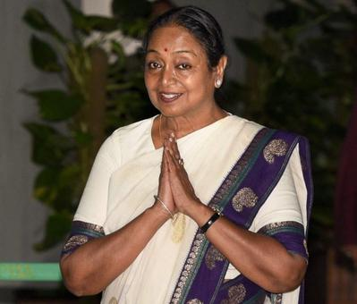 Meira congratulates Kovind, says it's on him to uphold the Constitution