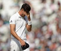 Hamstring tear rules paceman Steven Finn out for four weeks