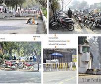 Barricades for pedestrians