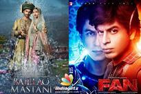 'Bajirao Mastani', 'Fan' nominated at Indian Film Festival of Melbourne