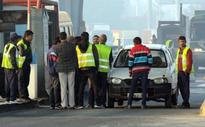 Chaos on the cards at toll plaza
