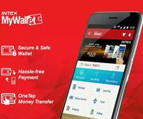 Intex Launches MyWallet, a Multipurpose Mobile Wallet For All Android Users