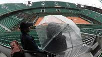 Rain Record: Persistent showers force first washout at French Open since 2000