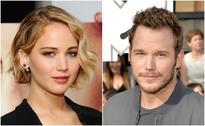 Anna Faris Interviews Her Husband Chris Pratt And His On-Screen Love Interests, Jennifer Lawrence And Aubrey Plaza