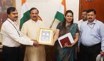 Dr. Mahesh Sharma releases Commemorative Coin and Circulation Coin on Tatya Tope on his Martyr Day