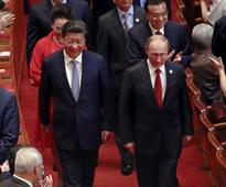 China and Russia are boosting their military cooperation to try to contain the US
