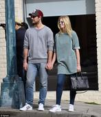 Alex Pettyfer and Marloes Horst spark engagement rumours as model flashes diamond ring...